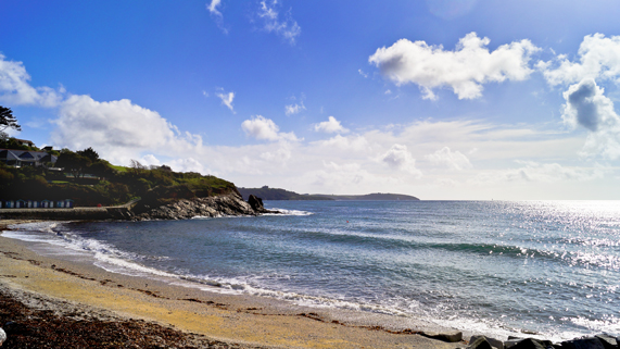 Swanpool Beach Falmouth Cornwall by Leigh Heppell